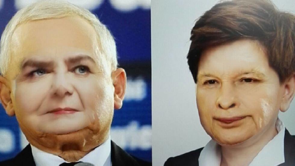Znalezione obrazy dla zapytania szydło z twarzą kaczyńskiego